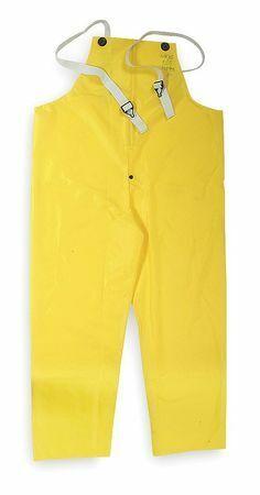 Condor 5T925 Fr Rain Bib Overall,Yellow,2Xl