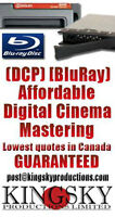 DCP Digital Cinema Package Mastering and Bluray Mastering