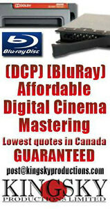 DCP Film Digital Cinema Package Mastering and Bluray Mastering St. John's Newfoundland image 5