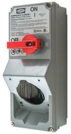Hubbell Wiring Device-Kellems Hblmitl 600V Ac Single Throw Disconnect Switch