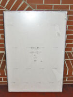 """IKEA """"RESLIG"""" LARGE FORMAT SILVER WALL FRAME (28""""W x 39""""H) ~ NEW"""