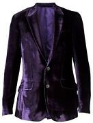 Mens Purple Blazer