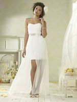 Alfred Angelo short wedding dress for sale