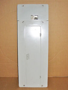 sylvania fuse panel local deals on electrical materials in ceb 100 amp 24 circuit combination fuse panel cover rare