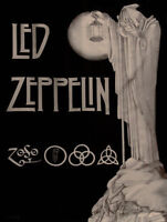 2 Tickets to Led Zeppelin (Zoso) Aug 29th, 4th Row, Centre Stage