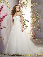 Wedding Dress - Alfred Angelo 2419