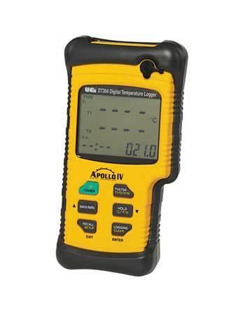 UEI TEST INSTRUMENTS DT304 Digital Temperature Logger, 4 Input