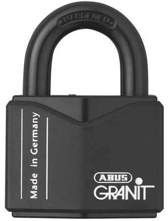 "ABUS 37/55 KD Keyed Padlock,Different,2-1/8""W"