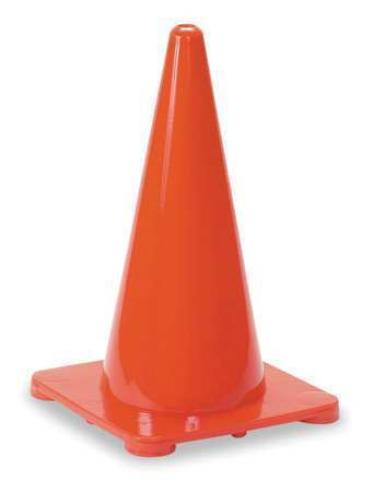 Zoro Select 1Ybw5 Traffic Cone,18 In.Red