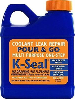 K Seal Radiator Sealer Permanently Cures Coolant Leaks K-Seal Rad Leak Stop Weld
