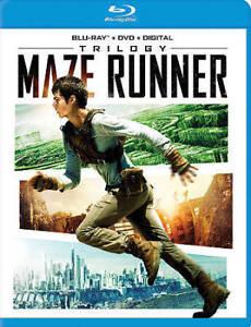 Maze Runner Trilogy Blu-ray + DVD + Digital ~ Brand New Sealed ~ Free Shipping