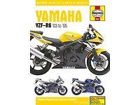 Haynes Manual Yamaha YZF-R6 2003-2005