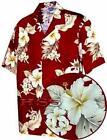 Men Floral Shirt M