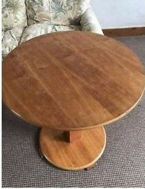Solid wood dining table in good condition