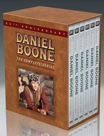 Daniel Boone The Complete Series DVD Disc Box Set NEW & Sealed
