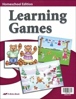 Abeka K4-K5 Homeschool Learning Games (10 Learning Games), used for sale  USA