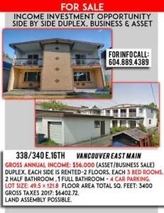 Duplex For sale by owners