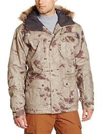 Quicksilver Mens Storm Snowboard/Ski Jacket Medium in rare desert camo