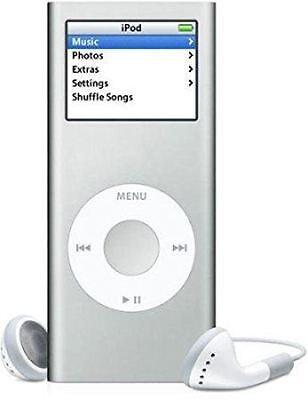 Apple iPod Nano 2nd Silver / White (2GB) + Extras (AMAZING VALUE) (Grade C)