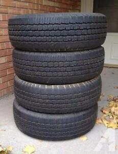 225/50/17 Michelin Pilot HX MXM4 All Season 4 used tires, 80% tread left