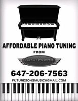 Affordable Piano Tuner