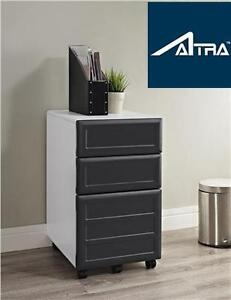 """NEW ALTRA PURSUIT VERTICAL FILE GREY LETTER/LEGAL 15.37"""" W - FILE CABINET STORAGE DRAWER CHEST 102485549"""
