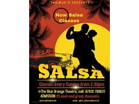 Salsa Classes Birmingham Text 077303 68592
