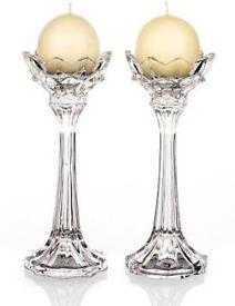 Newgrange Living Monaco Ball 25cm Pair Candle Holders