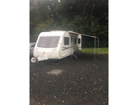 Swift charisma 555 Colonsay 4 berth fixed rear bed.