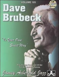 Dave-Brubeck-In-Your-Own-Sweet-Way-Book-amp-CD-Jamey-Aebersold-2003-RF624