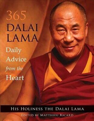 365 Dalai Lama : Daily Advice from the Heart, Paperback by Dalai Lama XIV;