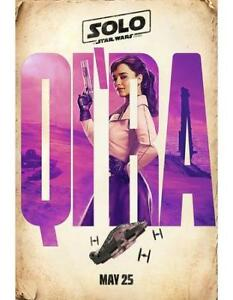 BRAND NEW SOLO: A Star Wars Story Teaser Poster - Qi'Ra