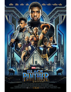 BRAND NEW Black Panther Theatrical Payoff Poster