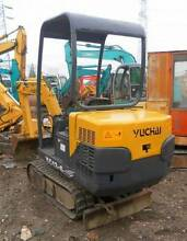 2nd hand excavator Yuchai YC15-6 1.5Ton Kenwick Gosnells Area Preview