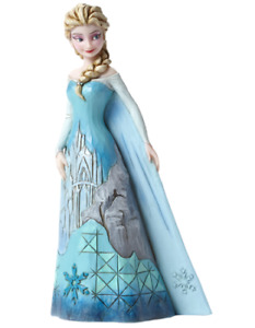 Disney Traditions Frozen Elsa with Ice Castle Dress