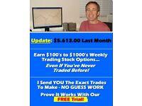 Simple easy 10 min. week earn $!000's in stock options