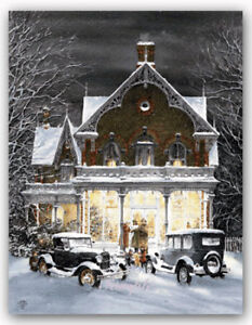 Winter Eve by Walter Campbell open edition only one available Xm