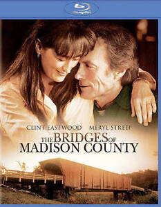 The Bridges of Madison County (Blu-ray Disc, 2014) - NEW!!FREE SHIPPING