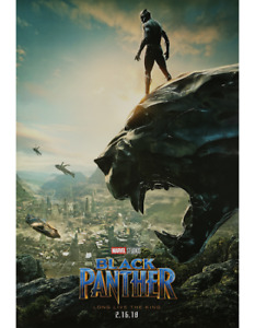 BRAND NEW Marvel Black Panther Theatrical Poster