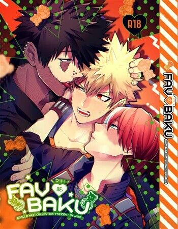 My Hero Academia doujinshi MANGA bl FAVBAKU RE: 284p/A5 NEW