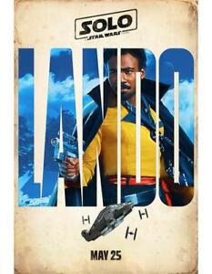 BRAND NEW SOLO: A Star Wars Story Teaser Poster - Lando