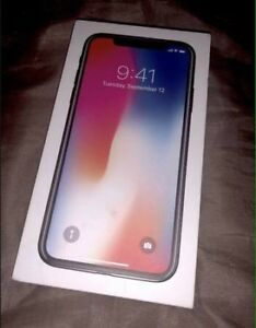 iPhone X 256GB unlocked warranty