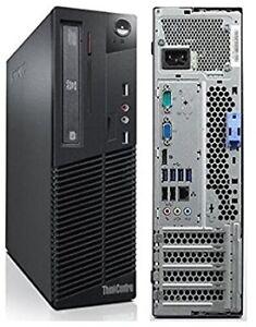 Lenovo SFF with Intel Core i5 CPU 250GB HDD