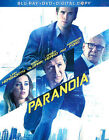 Paranoia (Blu-ray/DVD, 2013, 2-Disc Set, Includes Digital Copy)