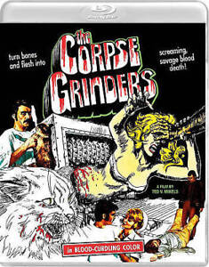 THE CORPSE GRINDERS BLU-RAY + DVD VINEGAR SYNDROME NO SLIPCA