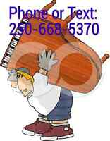 SMALL MOVES FROM $30.00 Nanaimo Parksville Qualicum Duncan Alber