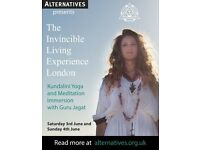 THE INVINCIBLE LIVING EXPERIENCE - KUNDALINI YOGA AND MEDITATION