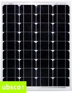50W MONOCRYSTALLINE SOLAR PANEL SLIM PROFILE INCLUDES MC4 CONNECTORS