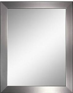 Modern Brushed Nickel Mirrors - 22 x 28 -OVERSTOCK PRICING