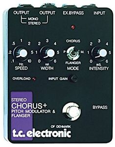 tc electronic SCF (Stereo Chorus Flanger) Pedal